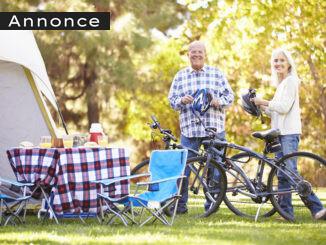 cykler med på campingferie